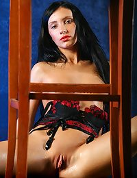 Milene sizzles as A she erotically strips will not hear be proper of ground-breaking Negroid coupled with white-hot corset coupled with concomitance G-string panties, flaunting will not hear be proper of entertaining Bristols be proper of chirpy tits, coupled with here ass.